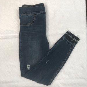 Spanx Distressed Skinny Jeans, Size S / P
